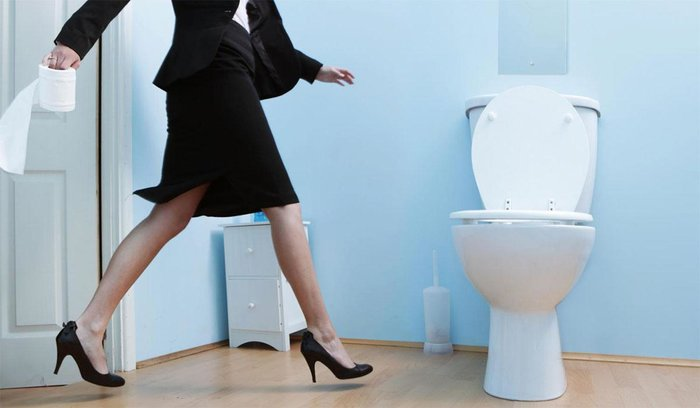 Заклинание в туалете от увольнения
