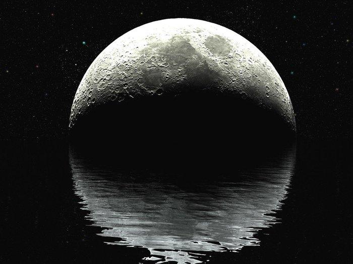 Заговор на воду при луне