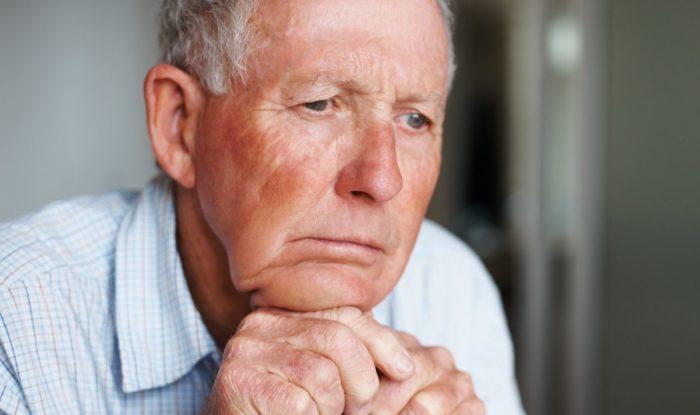 Грустный старик