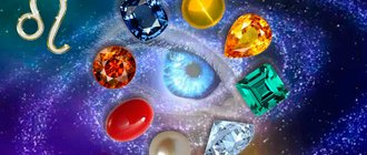 Камни-талисманы знака зодиака Лев