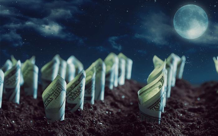Заговор на деньги на полную луну