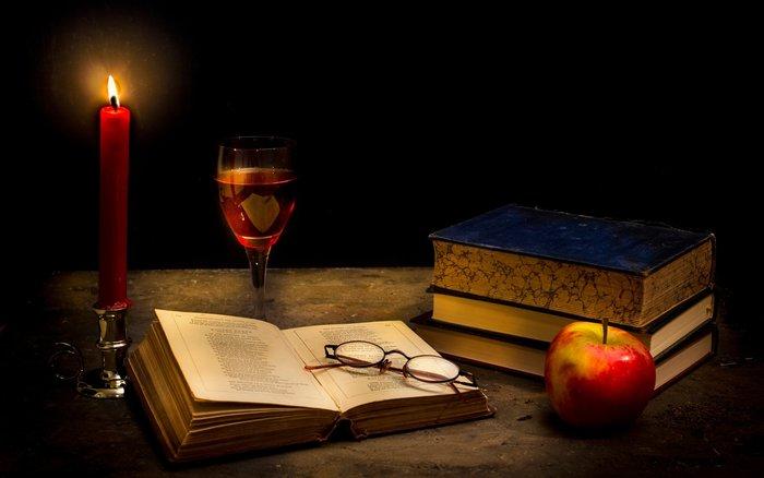 Заговор на яблоко и свечи
