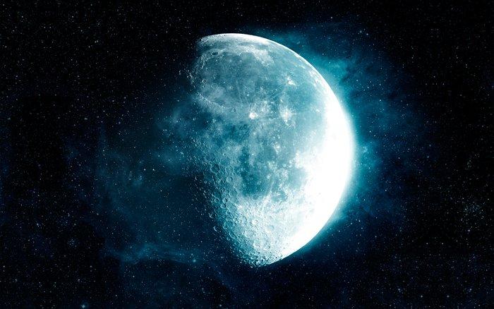 Растущая луна в магии