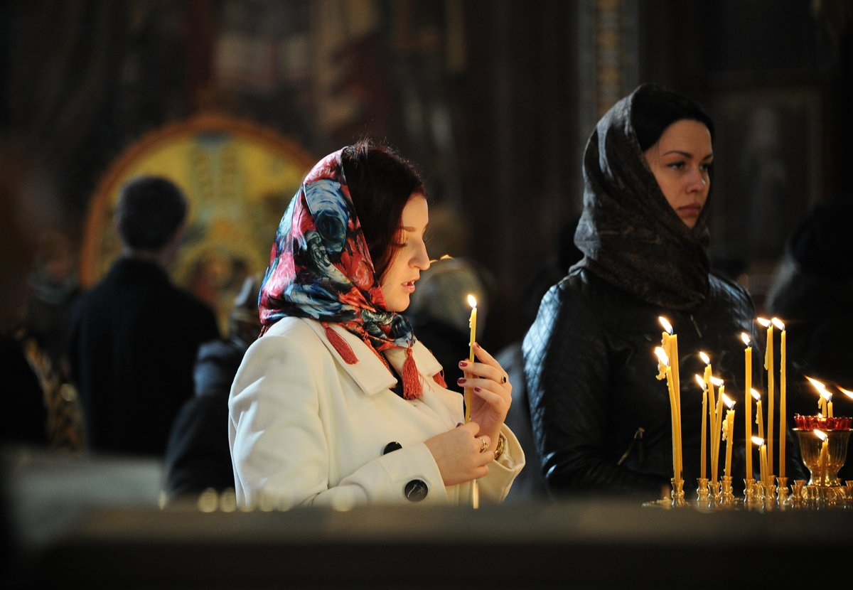 Снятие порчи в церкви таинства наших предков